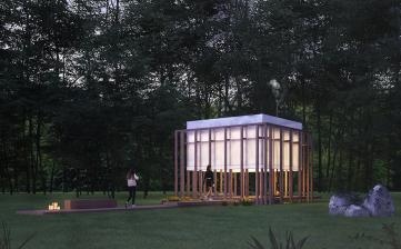 Tiny Kiwi  Meditation Cabin