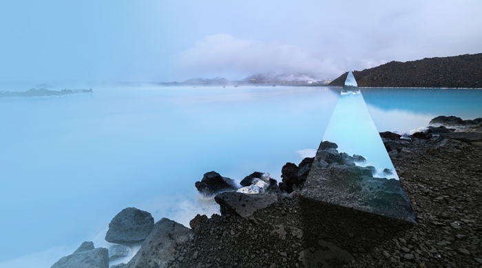 Iceland Greenhouse Restaurant - design a restaurant, set between geothermal baths and a volcano in Iceland!