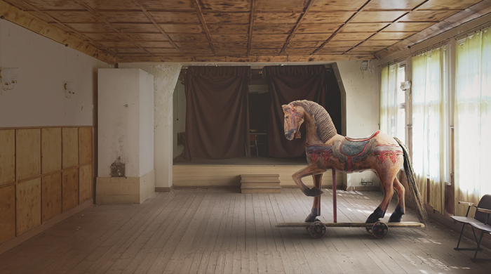 Omuli Museum of the Horse architecture competition - reimagine a historical primary school into a museum for horses!