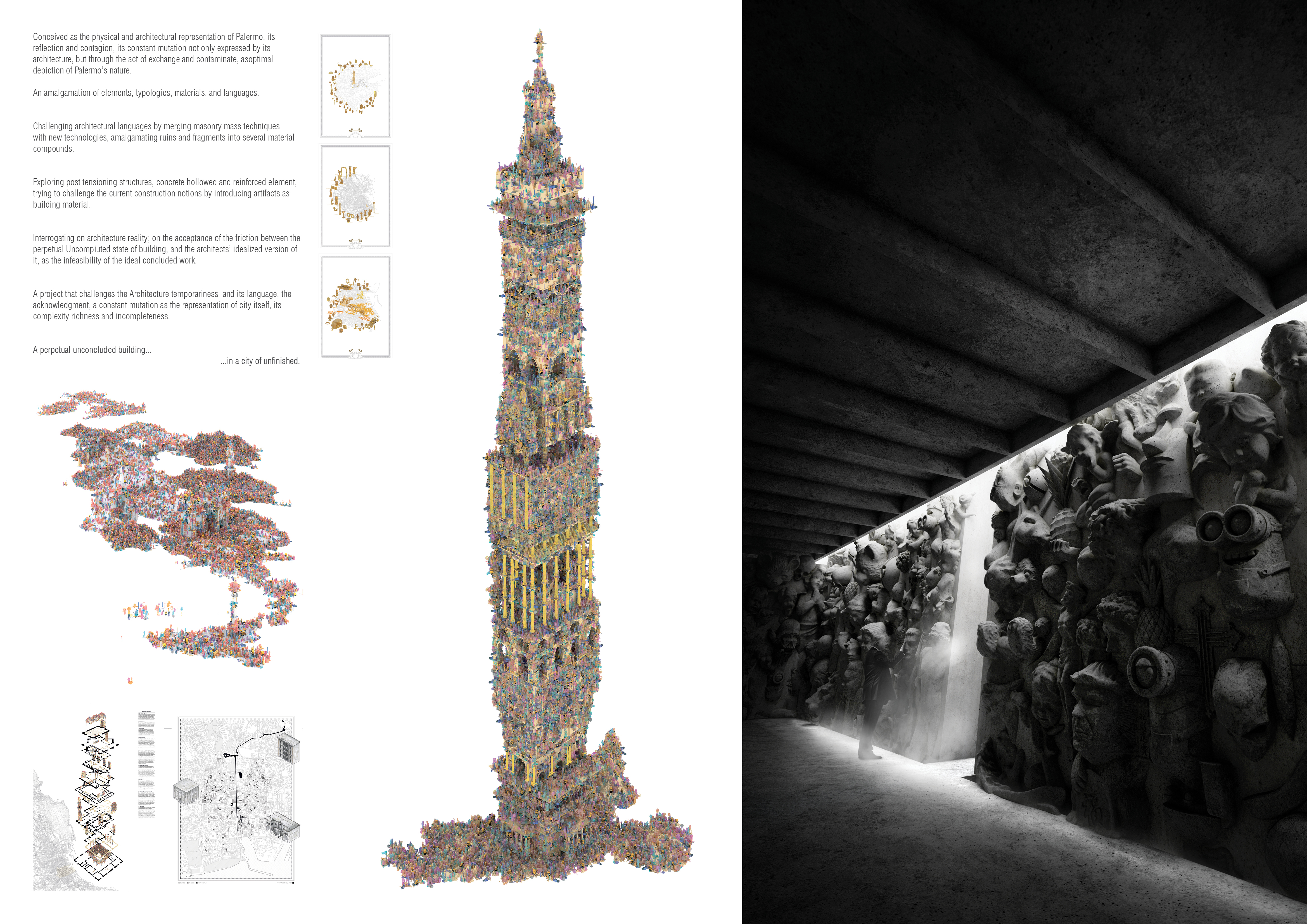 2ND PRIZE WINNER skyhive2019 architecture competition winners