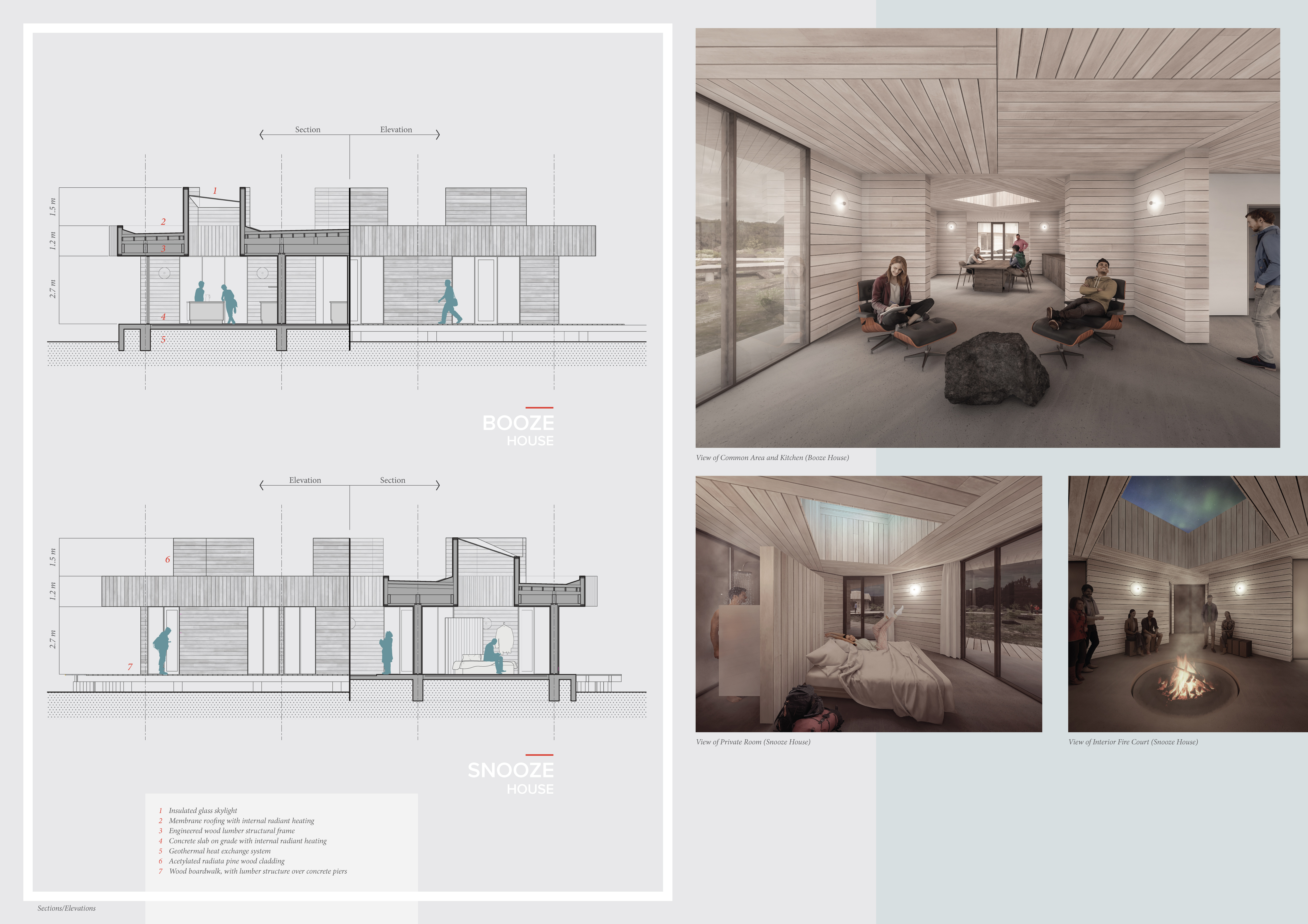 1ST PRIZE WINNER icelandguesthouse architecture competition winners