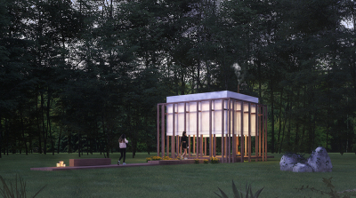 Why do you participate in architecture competitions? - Tiny Kiwi Meditation Cabin 1st Prize winners