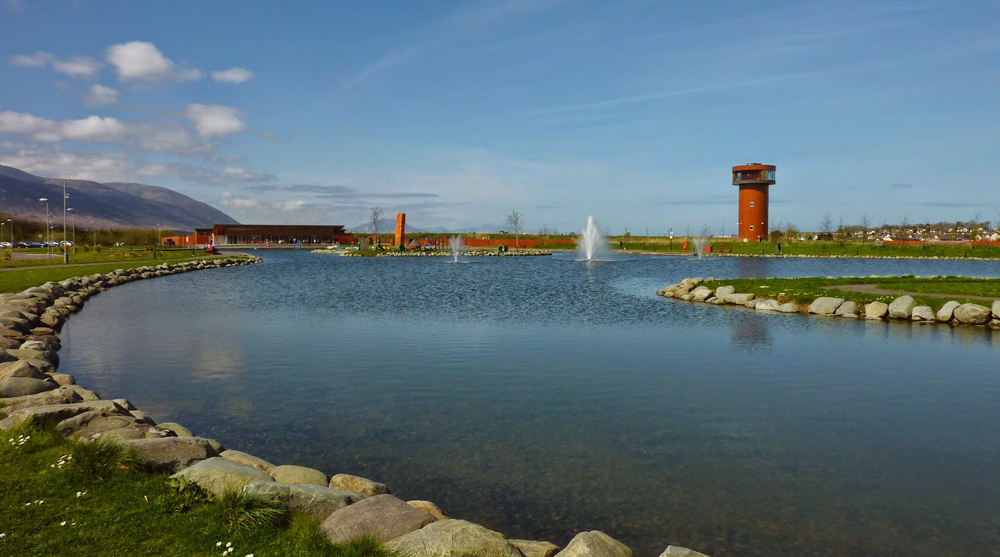 tralee, bay, wetlands, architecture, tower,