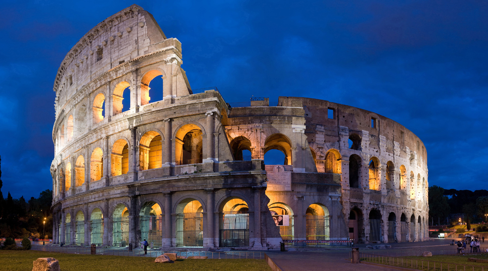 roman architecture, colosseum